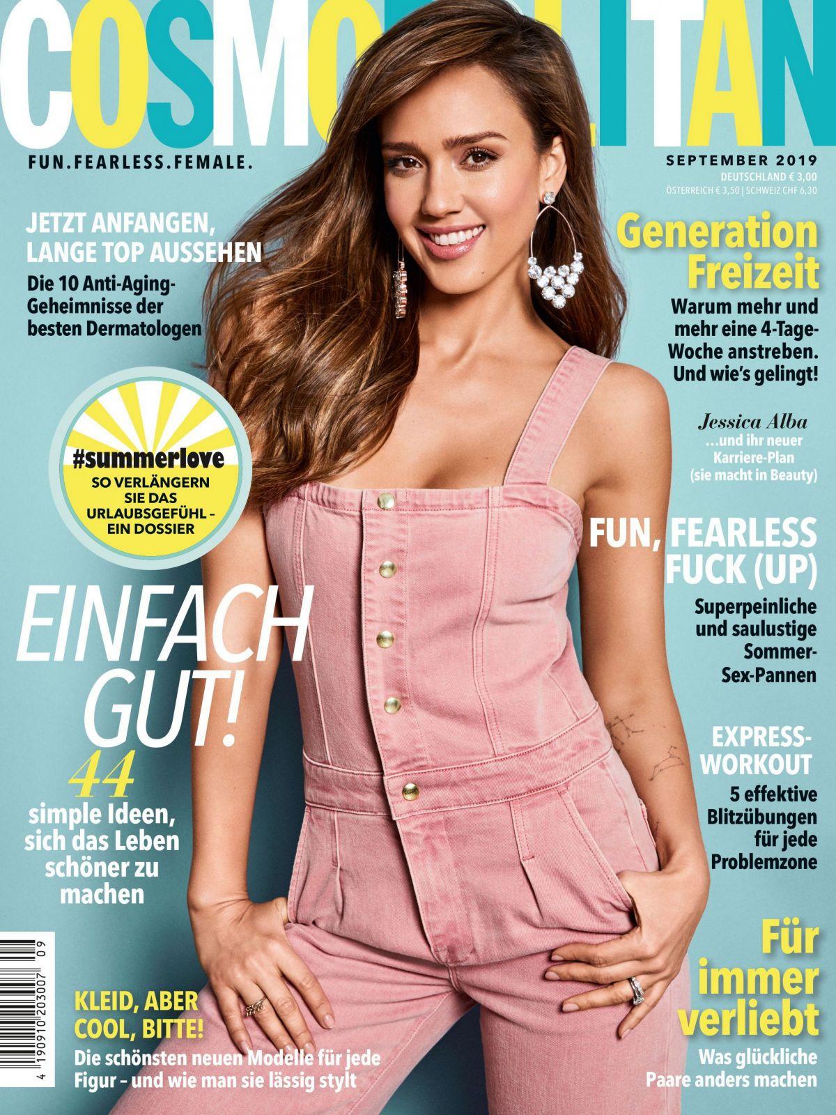 Jessica Alba - Cosmopolitan Netherlands 2019-01 | GotCeleb