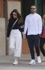 JESSICA BIEL and Justin Timberlake at Yves Restaurant in New York 08/24/2019