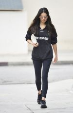 JESSICA GOMES Leaves a Gym in Los Angeles 07/31/2019