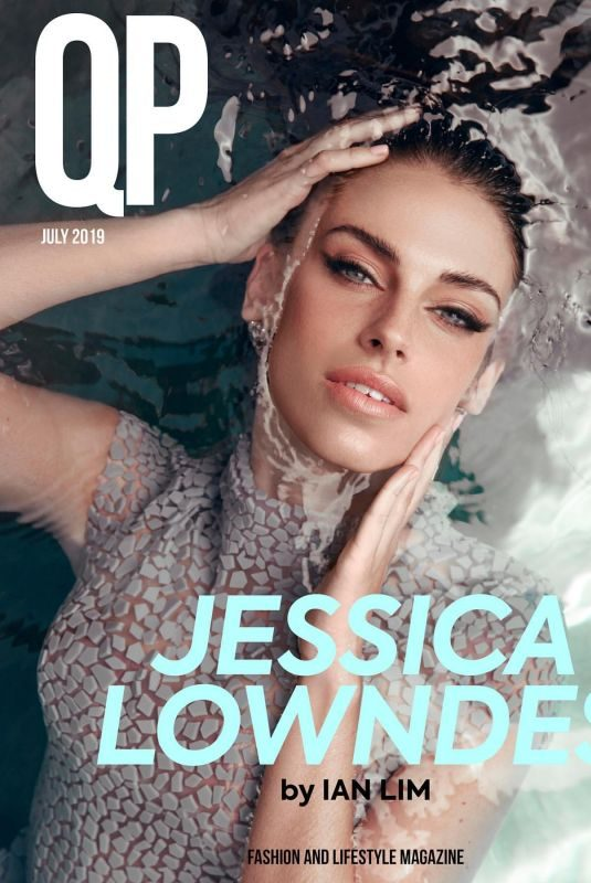 JESSICA LOWNDES in QP Magazine, August 2019