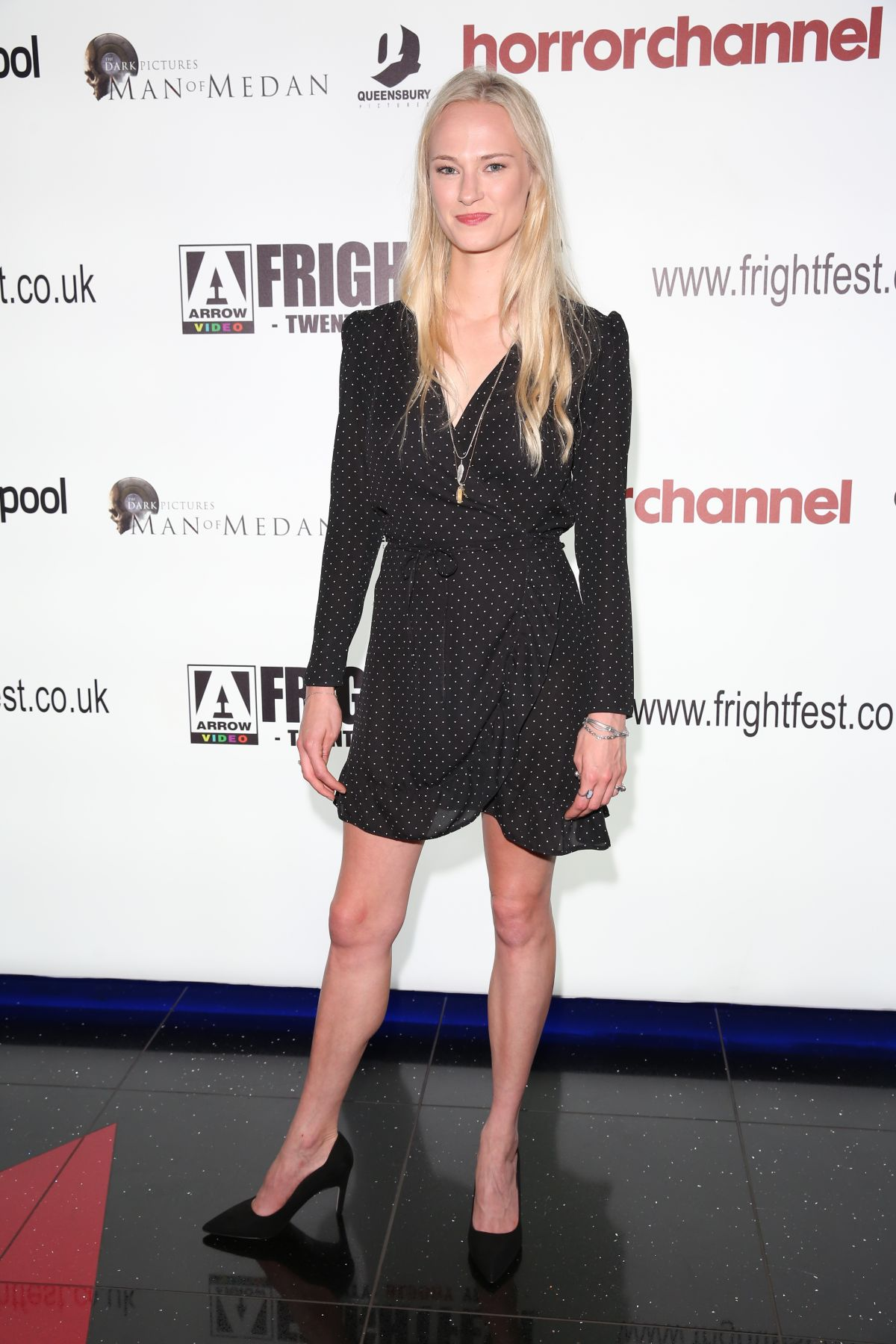 JESSICA MADSEN at Frightfest at Cineworld Leicester Square