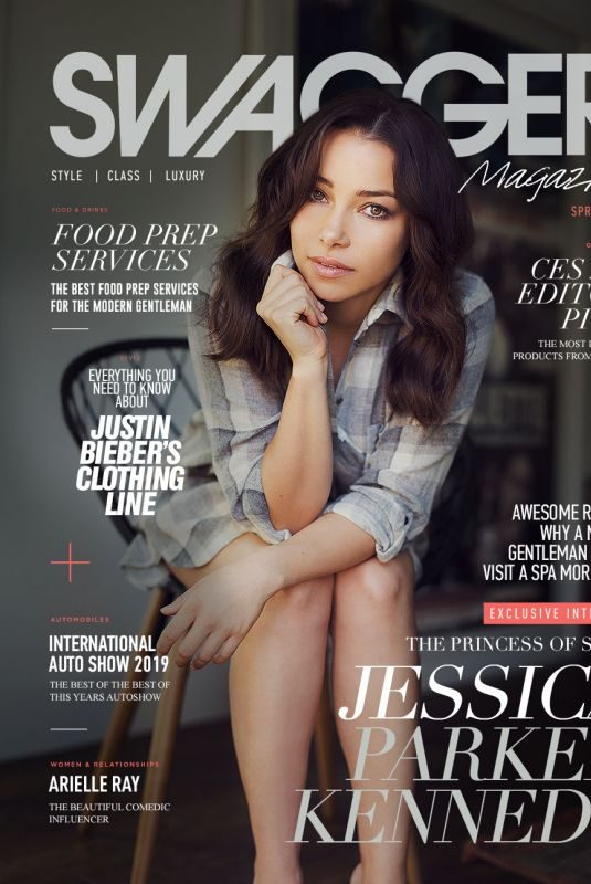 JESSICA PARKER KENNEDY in Swagger Magazine, Spring 2019