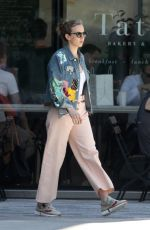 JODIE COMER Out in Boston 07/28/2019