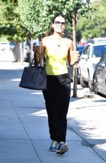 JORDANA BREWSTER Out for Coffee in Brentwood 08/27/2019