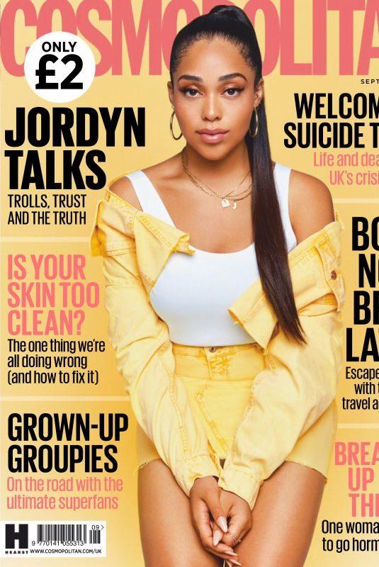 JORDYN WOODS in Cosmopolitan Magazine, UK September 2019