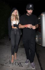 JOSIE CANSECO and Brody Jenner Night Out in Los Angeles 08/16/2019