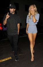 JOSIE CANSECO at Tao in West Hollywood 08/21/2019