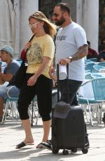 JULIA STILES and Preston J. Cook Arrives in Venice 08/22/2019