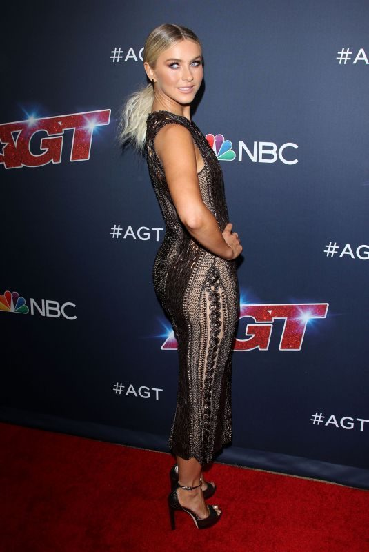 JULIANNE HOUGH at America's Got Talent Season 14 in Hollywood 08/27/2019