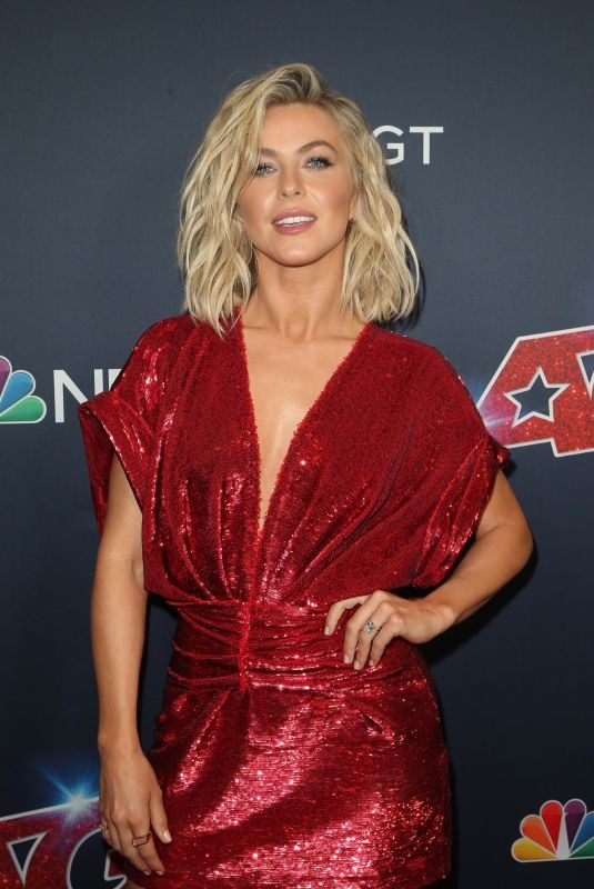 JULIANNE HOUGH at America's Got Talent Season 14 Live Show in Los Angeles 08/20/2019