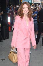 JULIANNE MOORE Arrives at Good Morning America in New York 08/01/2019