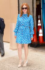 JULIANNE MOORE Arrives at Kelly and Ryan Show in New York 08/06/2019
