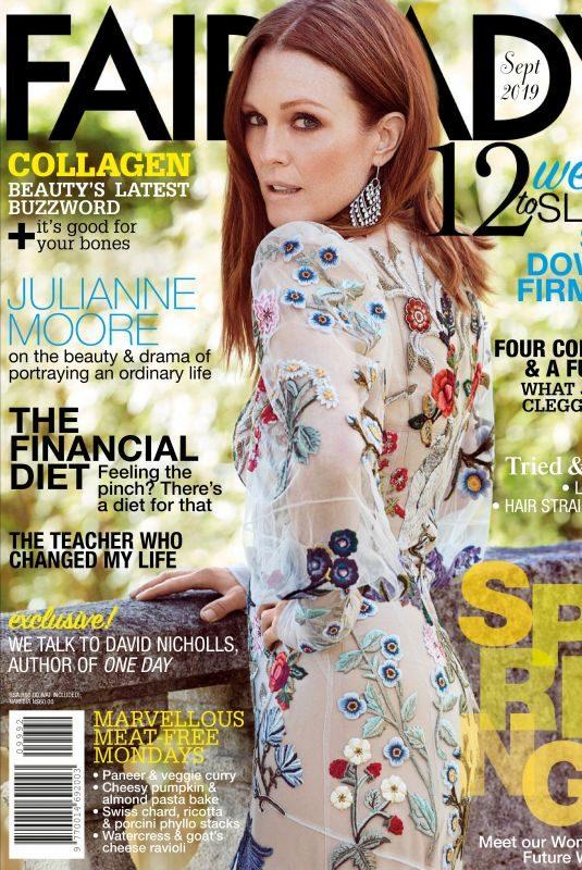 JULIANNE MOORE in Fairlady Magazine, September 2019