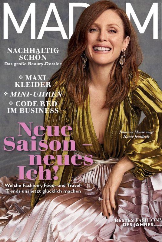 JULIANNE MOORE in Madame Magazine, September 2019
