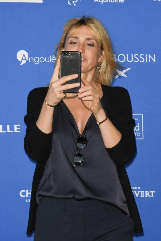 JULIE GAYET at Angouleme Film Festival in France 08/20/2019