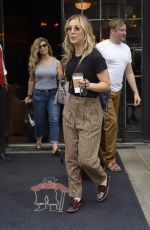 KALEY CUOCO Leaves Bowery Hotel in New York 08/13/2019