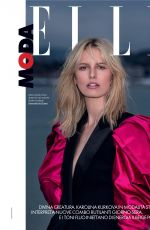 KAROLINA KURKOVA in Elle Magazine, Italy August 2019