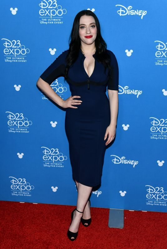 KAT DENNINGS at D23 Expo in Anaheim 08/23/2019