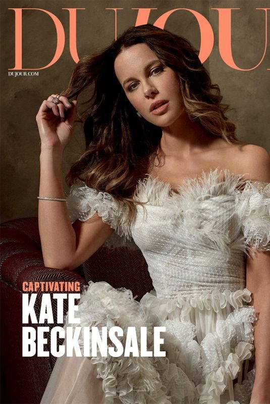 KATE BECKINSALE in Dujour Magazine, Spring 2019