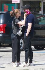 KATE MARA and Jamie Bell Out in Los Angeles 07/20/2019
