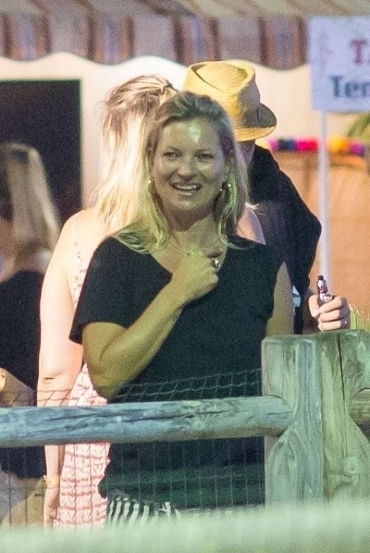 KATE MOSS at Amusement Park Azur in Gassin 08/29/2019