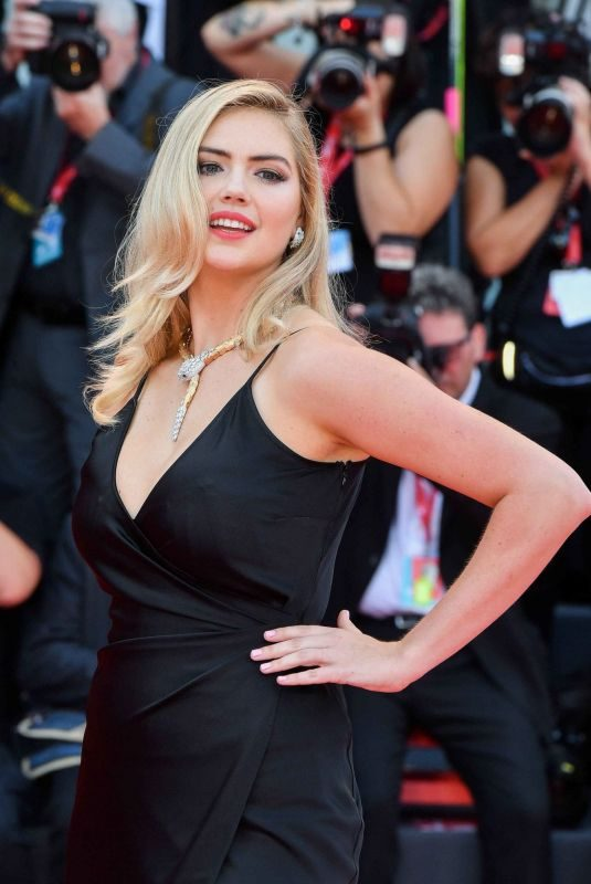 KATE UPTON at Marriage Story Screening at 76th Venice Film Festival 08/29/2019