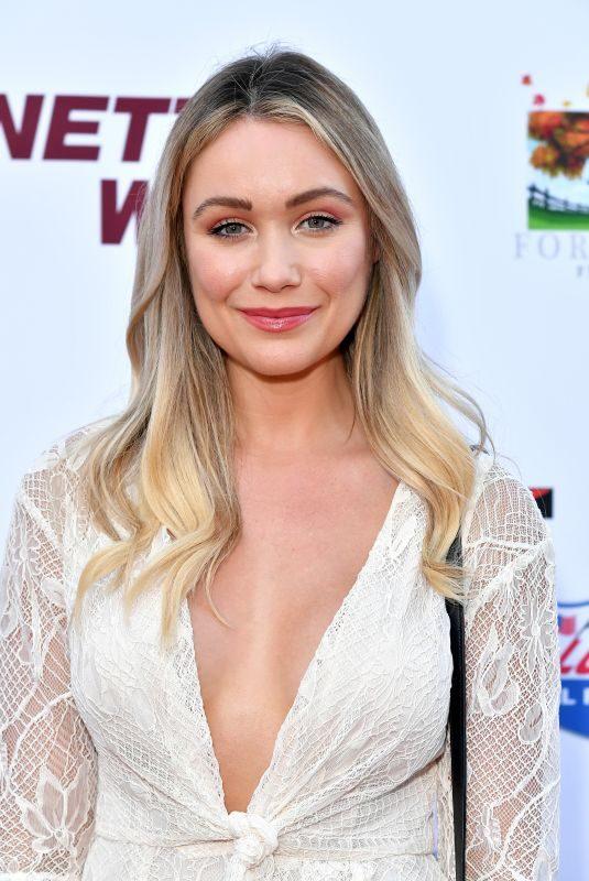 KATRINA BOWDEN at Bennett's War Premiere in Hollywood 08/13/2019