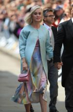 KATY PERRY and Orlando Bloom Arrives Ellie Goulding and Caspar Jopling Wedding in London 08/31/2019