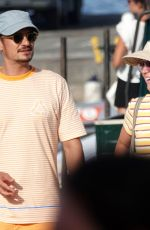 KATY PERRY and Orlando Bloom Out at Eolian Islands 08/02/2019