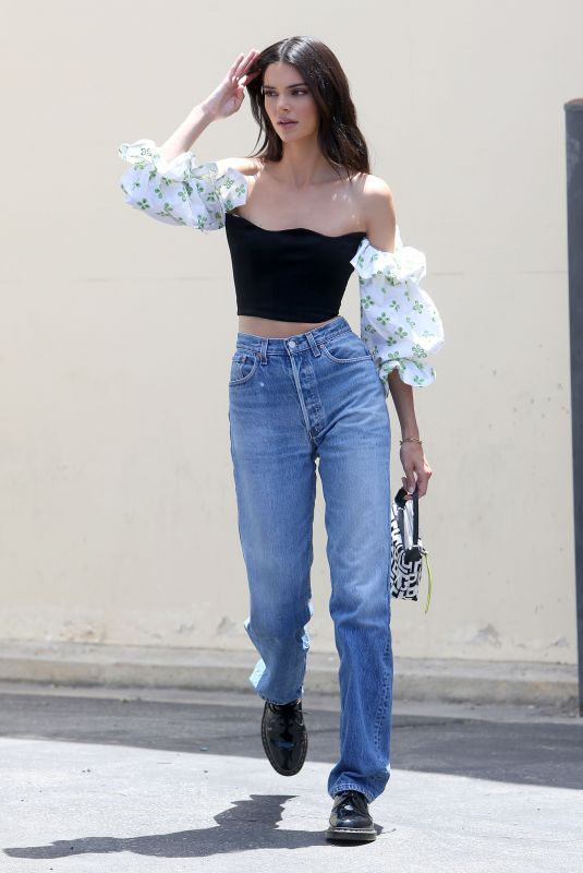 KEDNALL JENNER in Denim Out in Los Angeles 08/09/2019