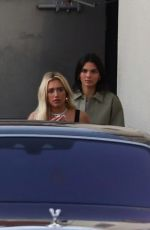 KENDALL and KYLIE JENNER Out for Dinner in Los Angeles 08/28/2019