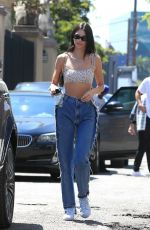 KENDALL JENNER Out and About in West Hollywood 08/11/2019