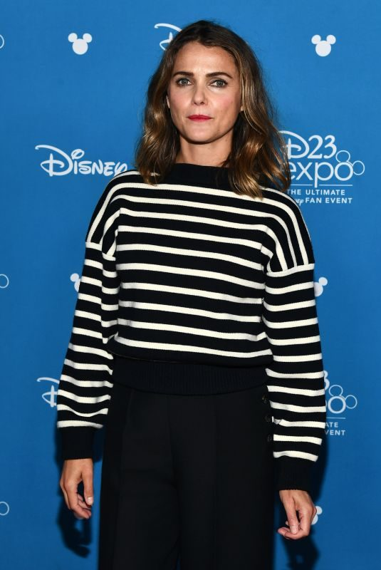 KERI RUSSELL at D23 Expo in Anaheim 08/24/2019