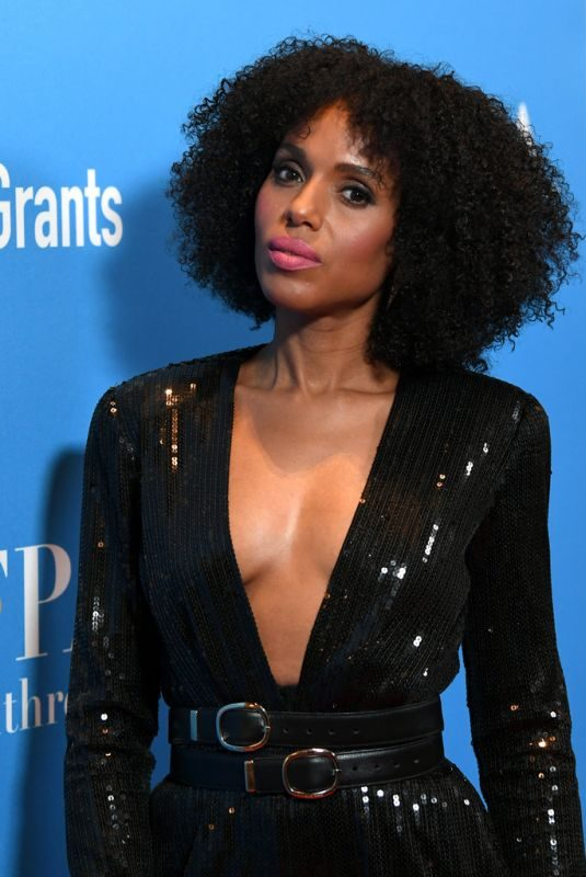 KERRY WASHINGTON at Hfpa's Annual Grants Banquet in Beverly Hills 07/31/2019