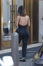 KIM KARDASHIAN Arrives at a Hotel in Beverly Hills 08/11/2019