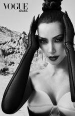 KIM KARDASHIAN for Vogue Magazine, Arabia September 2019