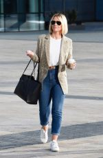 KIMBELREY WALSH leaves BBC Breakfast Studio in Manchester 08/23/2019
