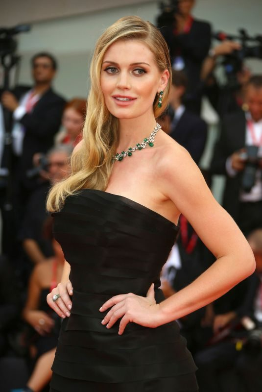 KITTY SPENCER at The Truth Premiere at 2019 Venice Film Festival 08/28/2019