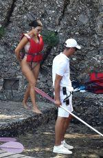 KOURTNEY KARDASHIAN in Bikini on Holiday in Portofino 08/05/2019