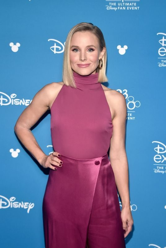 KRISTEN BELL at D23 Disney+ Event in Anaheim 08/24/2019