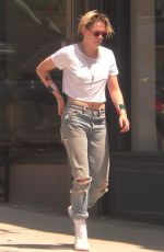 KRISTEN STEWART Out and About in Los Angeles 08/28/2019