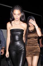 KYLIE and KENDALL JENNER at Nice Guy in West Hollywood 08/23/2019