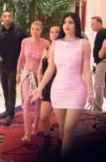 KYLIE JENNER and ANASTASIA KARANIKOLAOU Night Out in Las Vegas 08/25/2019