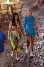 KYLIE JENNER and ANASTASIA KARANIKOLAOU Out in Capri 08/08/2019
