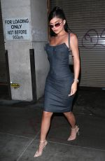 KYLIE JENNER Arrives at Travis Scott - Look Mom I Can Fly Premierein Afterparty 08/27/2019