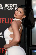 KYLIE JENNER at Travis Scott - Look Mom I Can Fly Premierein Santa Monica 08/27/2019