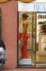 KYLIE JENNER Out Shopping in Portofino 08/12/2019