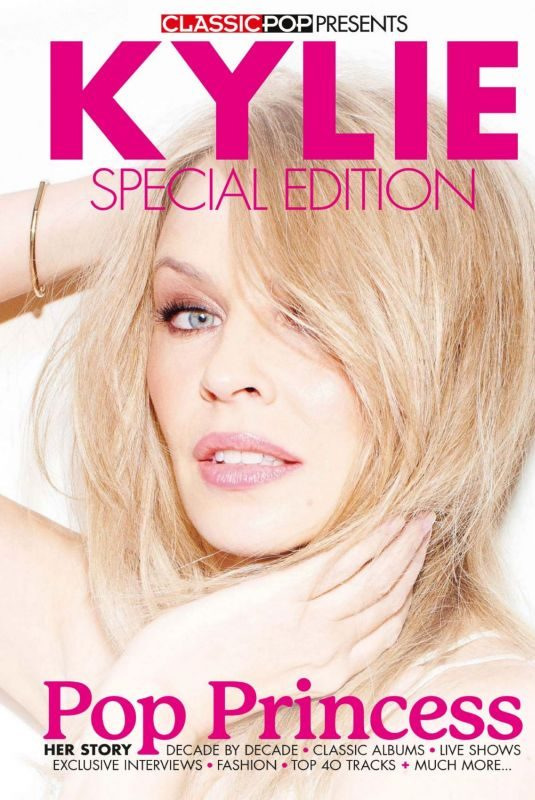 KYLIE MINOGUE in Classic Pop Magazine, Special Issue 2019