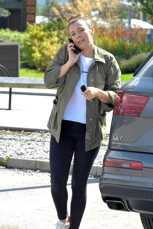 KYM MARSH Out and About in Manchester 08/09/2019