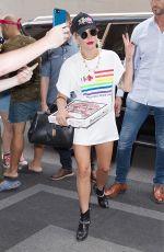 LADY GAGA Arrives at Mark Hotel in New York 06/28/2019
